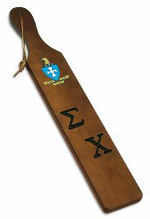 Sigma Chi Discount Paddle