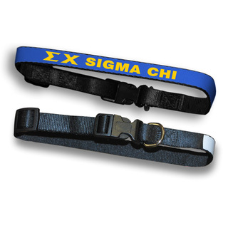 Sigma Chi Dog Collar