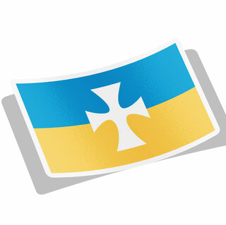 Sigma Chi Flag Decal Sticker