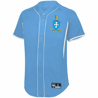 Sigma Chi Game 7 Full-Button Baseball Jersey