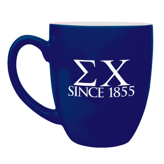 Sigma Chi Greek Bistro Mug
