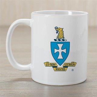Sigma Chi Greek Crest Coffee Mug