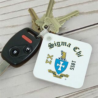 Sigma Chi Color Keychains