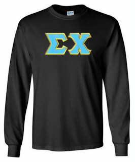 Sigma Chi Lettered Long Sleeve Shirt