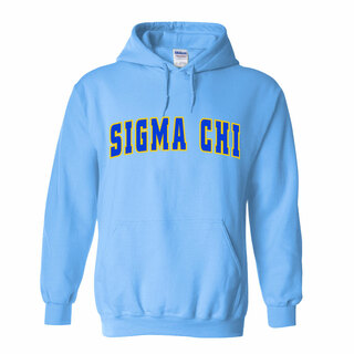 Sigma Chi Letterman Twill Hoodie