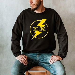 Sigma Chi Lightning Crew Sweatshirt