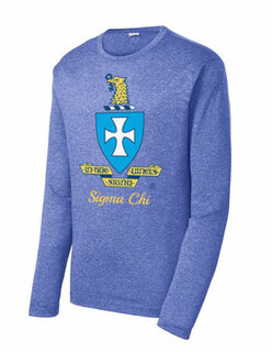 Sigma Chi Long Sleeve Heather Contender� Tee