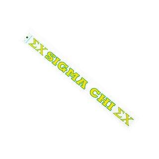 Sigma Chi Long Window Decal
