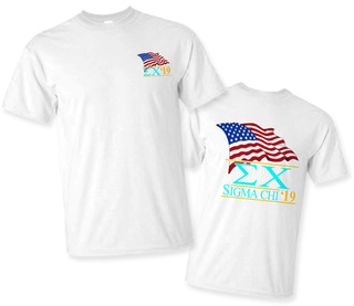 Sigma Chi Patriot Limited Edition Tee- $15!