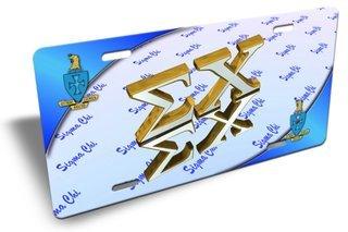 Sigma Chi Plate Cover