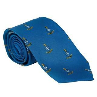 Sigma Chi Repeating Crest Tie Tie