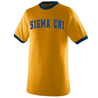 Sigma Chi Ringer T-shirts