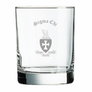Sigma Chi Old Style Glass