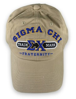 Sigma Chi Trade Mark Hats
