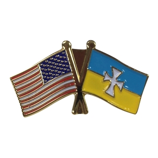 Sigma Chi USA Flag Lapel Pin