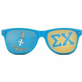 Sigma Chi Wayfarer Style Lens Sunglasses