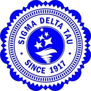 "Sigma Delta Tau 5"" Sorority Mascot Bumper Sticker"