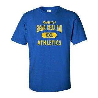 Sigma Delta Tau Athletics T-Shirts