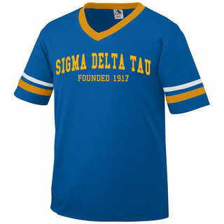 Sigma Delta Tau Boyfriend Style Founders Jersey