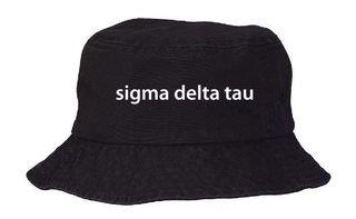 Sigma Delta Tau Bucket Hat