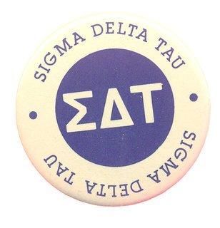Sigma Delta Tau Button Circle