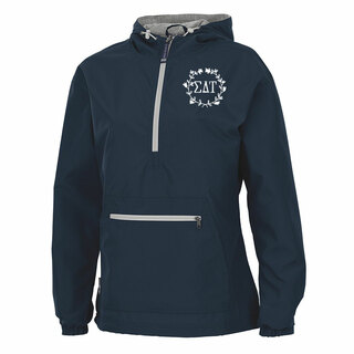 Sigma Delta Tau Chatham Anorak Solid Pullover