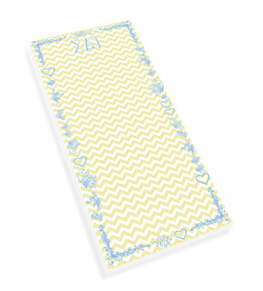 Sigma Delta Tau Chevron Long Notepad