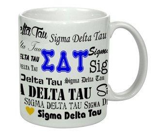 Sigma Delta Tau Collage Coffee Mug