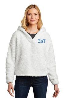 Sigma Delta Tau Cozy Fleece Hoodie