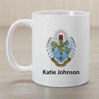 Sigma Delta Tau Crest Coffee Mug - Personalized!
