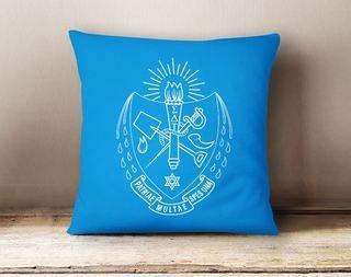 Sigma Delta Tau Crest - Shield Colored Pillow