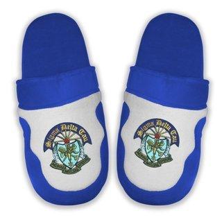 DISCOUNT-Sigma Delta Tau Crest - Shield Slippers
