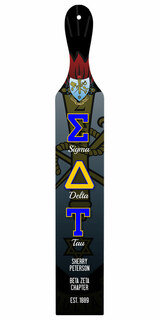 Sigma Delta Tau Custom Full Color Paddle