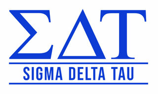 Sigma Delta Tau Custom Sticker - Personalized