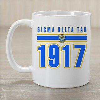 Sigma Delta Tau Established Year Coffee Mug - Personalized!