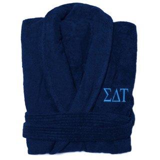 Sigma Delta Tau Greek Letter Bathrobe
