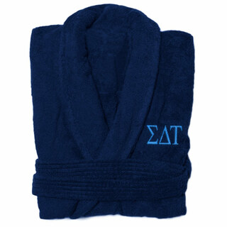 Sigma Delta Tau Greek Letter Bathrobe