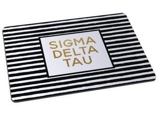 Sigma Delta Tau Striped Mousepads