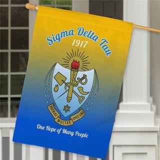 Sigma Delta Tau House Flag