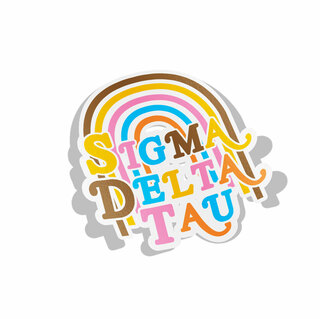Sigma Delta Tau Joy Decal Sticker