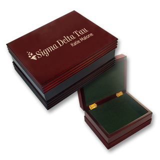 Sigma Delta Tau Mascot Keepsake Box