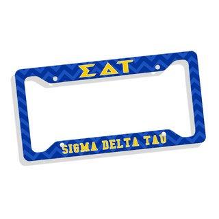 Sigma Delta Tau Custom License Plate Frame