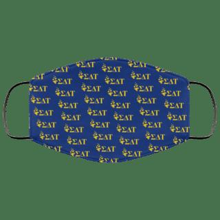 Sigma Delta Tau Mascot Face Mask