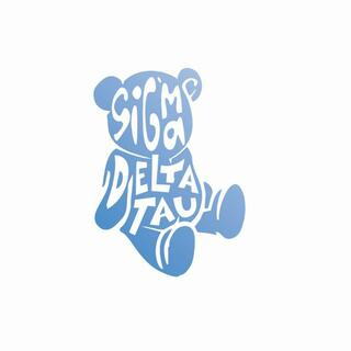 Sigma Delta Tau Mascot Greek Letter Sticker