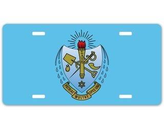 Sigma Delta Tau Crest - Shield License Plate