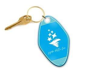 Sigma Delta Tau Mascot Motel Keychain