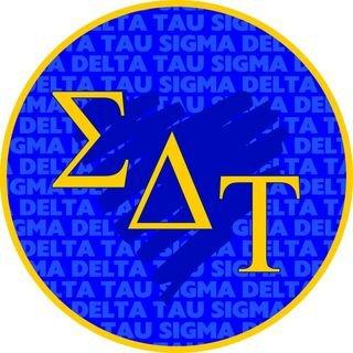 Sigma Delta Tau Mascot Round Decals
