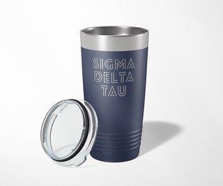Sigma Delta Tau Modera Tumbler