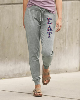 Sigma Delta Tau Be All Stretch Terry Sorority Pants