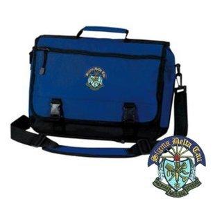 DISCOUNT-Sigma Delta Tau Emblem Briefcase